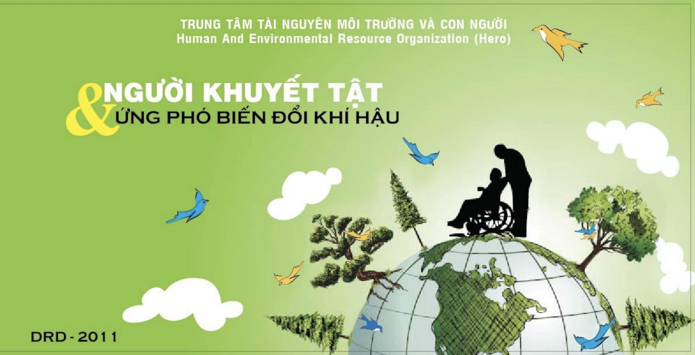 Người khuyết tật với biến đổi khí hậu   DRD 2011