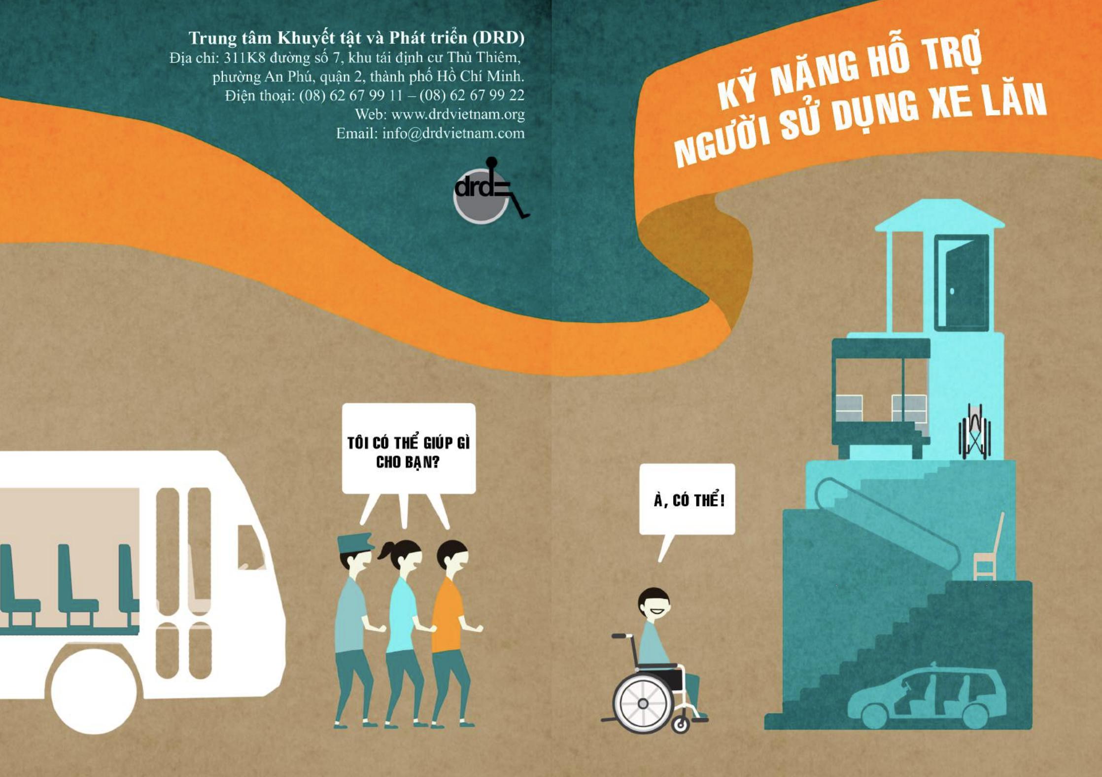 Kỹ năng hỗ trợ người sử dụng xe lăn | DRD 2017 (In Vietnamese only)